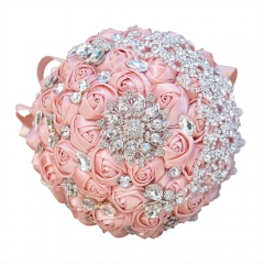 Crystal Jewelry Rhinestone Brooch Bridesmaids Wedding Bouquet