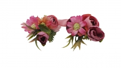 Wrist Corsage Brooch Boutonniere Set Party Prom Hand Flower