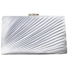 Envelope evening  clutch silver