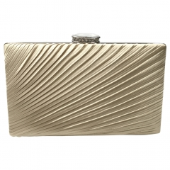 Envelope evening  clutch gold