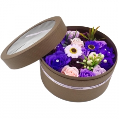 Eternal Scented Roses Gift Box (Purple)