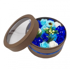 Eternal Scented Roses Gift Box (Blue)