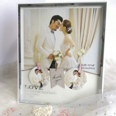 "8x10"" Photo Display Frame Holder Anniversary Holiday Birthday Present for Family Friends Beloved Ones"